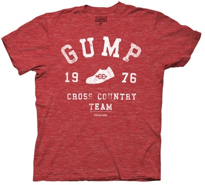 EU QUERO! Forest Gump - Fross Country (Slim Fit) T-Shirt