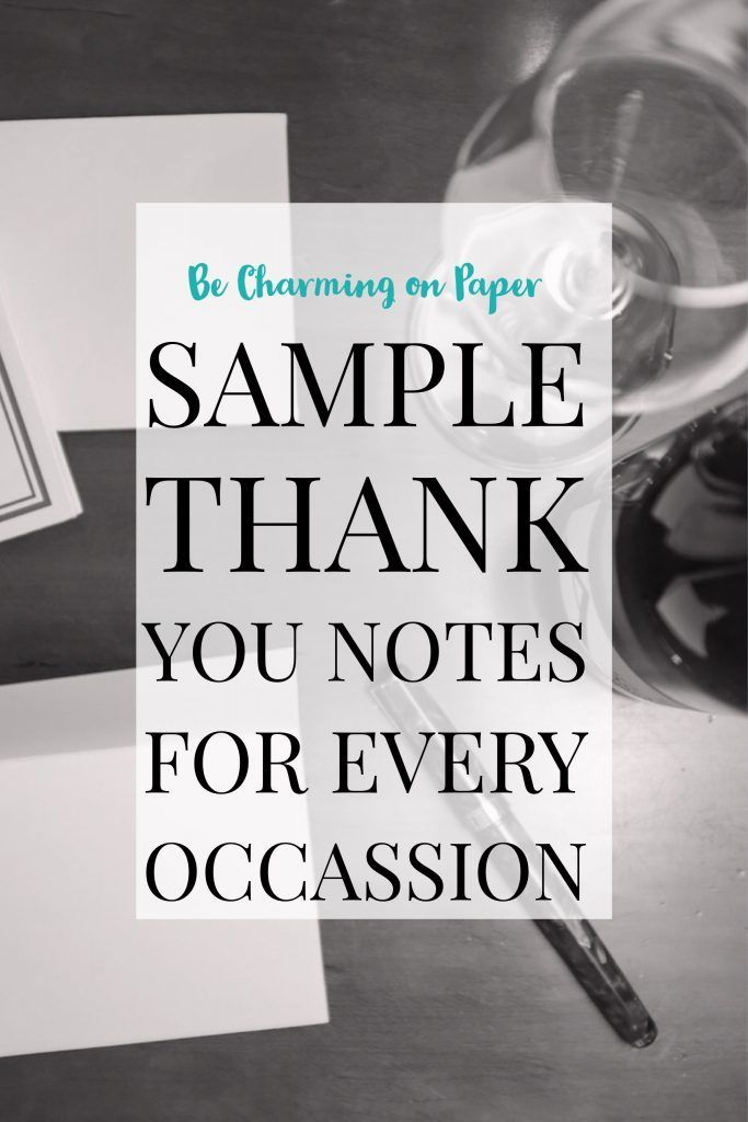 bridal shower thank you cards etiquette%0A An Easy Guide to Writing a Memorable Thank You Note  Be Charming on Paper