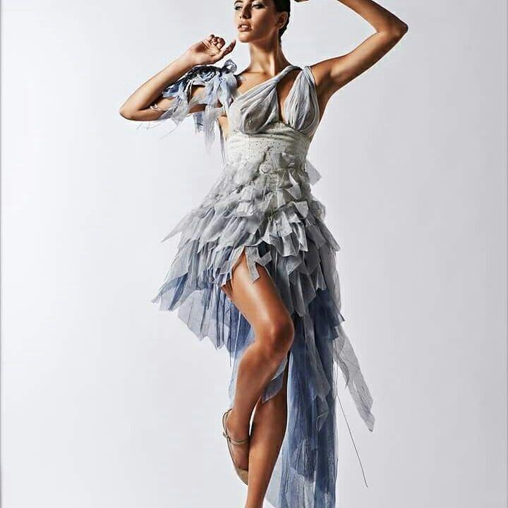 Fashion designer :Aida Hanxhari  Model:Maria Tsagaraki  Photographer :Antonis Mamillos