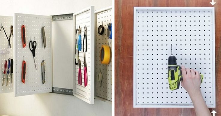 Build These Rotating Peg Boards To Clean Out Your Disastrous Drawers