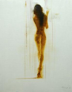 "Yuri Pysar; Painting, ""Nude Painting ""White"""" #art"