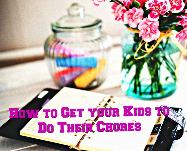 Here are some tips on how I got my 4 year old to do her daily chores!