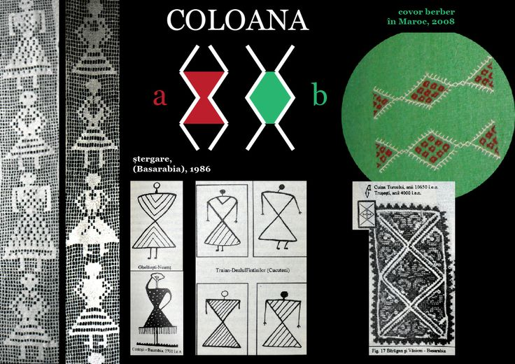 Romanian motif - the column