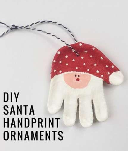 Diy christmas ornaments santa salt dough 42+ ideas