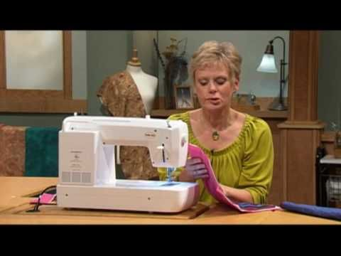 ▶ Create the look of hand stitching using a machine - YouTube  Hmmm, do I need another machine....what a silly question!