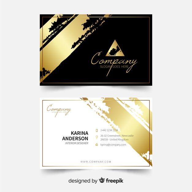 Elegant Business Card Template Elegant Business Cards Business Cards Layout Free Business Card Templates