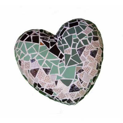 coeur en mosaïque