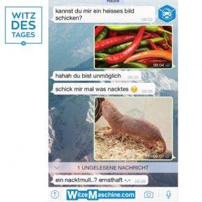 Lustige WhatsApp Bilder und Chat Fails 176 - Nacktbilder - Witz des Tages