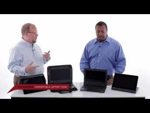 First Look:  #Chromebook  #ThinkPad 11e - YouTube