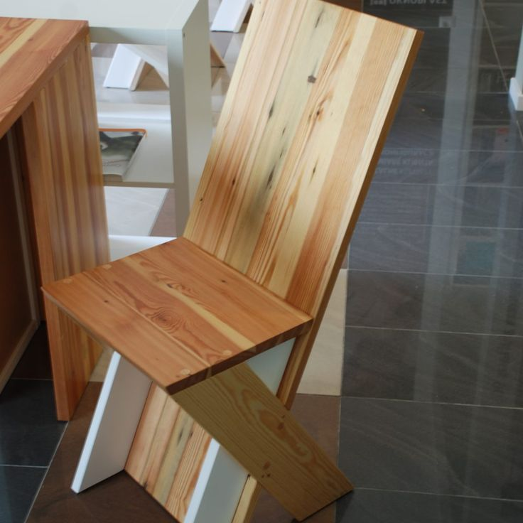 furniture, old wood- new chair