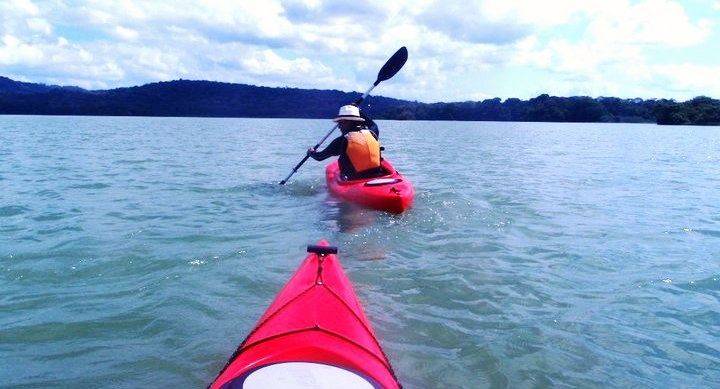 Kayak in Lake Gatun