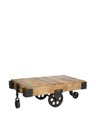 CDI New industrial II Coffee Table, Natural