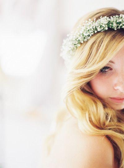 Bridal beauty: http://www.stylemepretty.com/2015/01/07/whimsical-blush-and-gold-alfresco-wedding/ | Photography: Michael & Carina - http://www.michaelandcarina.com/