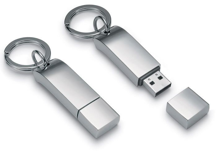 Philippi Keyring with USB stick  Fantastic and unique keyring with USB stick by Philippi. Made of stainless steel. Length: 6cm #usb