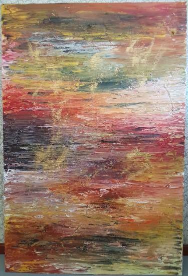 "Saatchi Art Artist Rebecca Campbell; Painting, ""Straight lines"" #art"