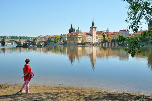 Prague : View from Střelecký island | Flickr - Photo Sharing!