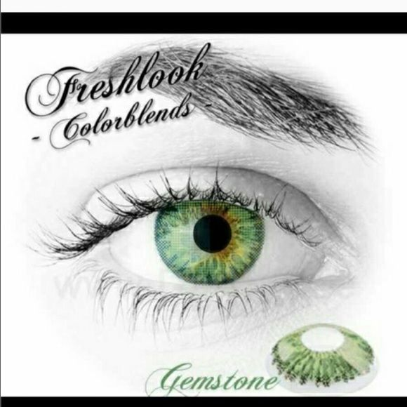 Gemstone freshlook colored contact lenses . Freshlook colored contact lenses New nonprescription  ex- 12-2019 10% all bundles Other