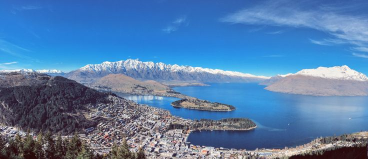 Panorama view of Queenstown!