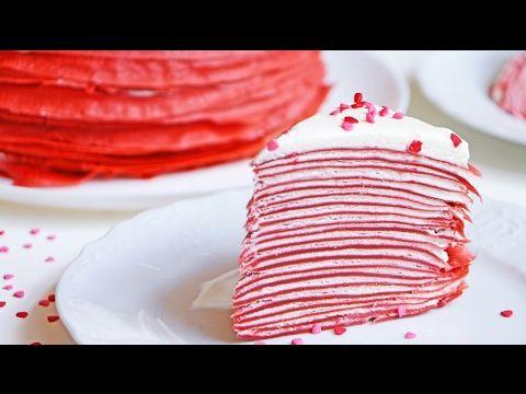 Блинный торт. Оригинальный необычный рецепт - YouTube