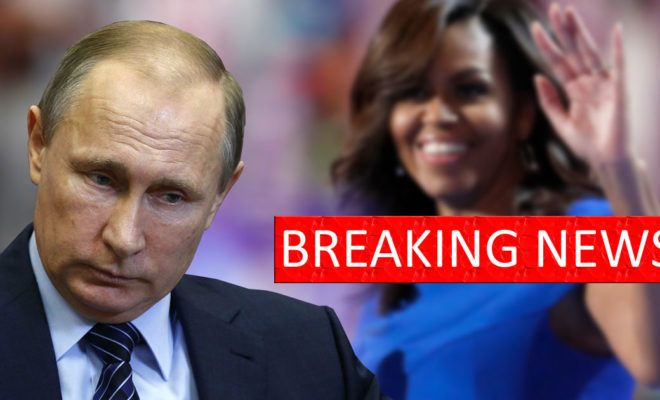 PUTIN SHOCKS EVERYONE, Responds To Obama With Line From Michelle Obama's Playbook!