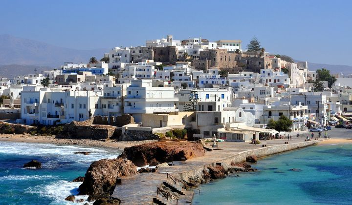 Naxos, Greece  Naxos got its popularity lately, and became a little bit more international. People over there are still living of the land. It has spectacular beaches and still it is pretty intact.
