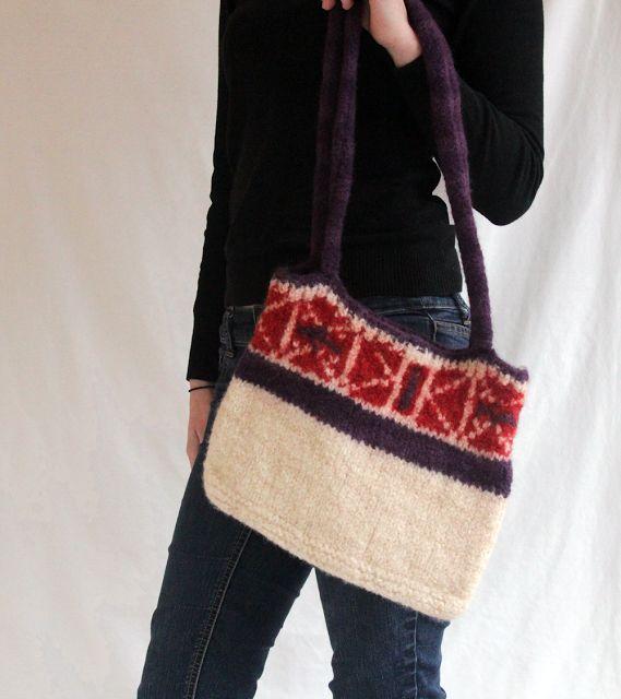 The Fuzzy Square: Southwestern Shoulder Bag