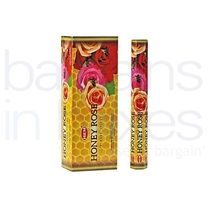 120 Hem Honey Rose Incense Sticks.