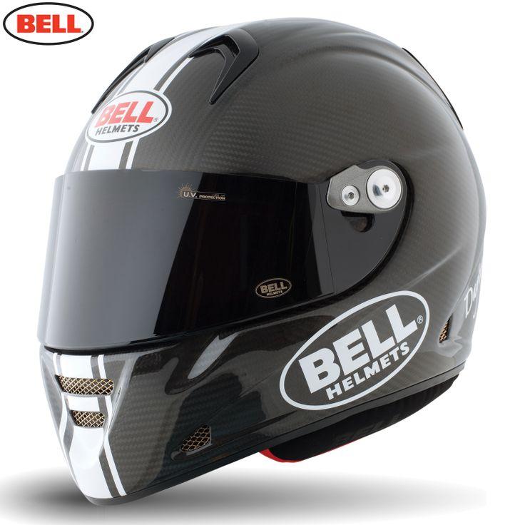Bell M5x Carbon Daytona Motorcycle Helmet - Matte Carbon White - 2014 Bell Road Helmets - 2014 Bell Motocross Helmets - 2014