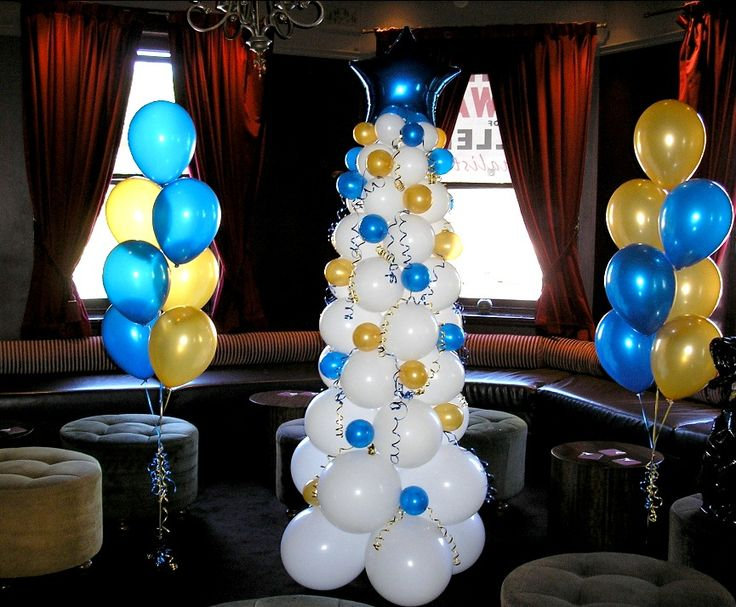 Pearl White Christmas Tree with Gold and Sapphire Baubles