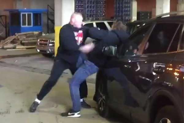 Videos: Brock Lesnar Attacks Dean Ambrose Backstage Before RAW, Ambrose Hospitalized