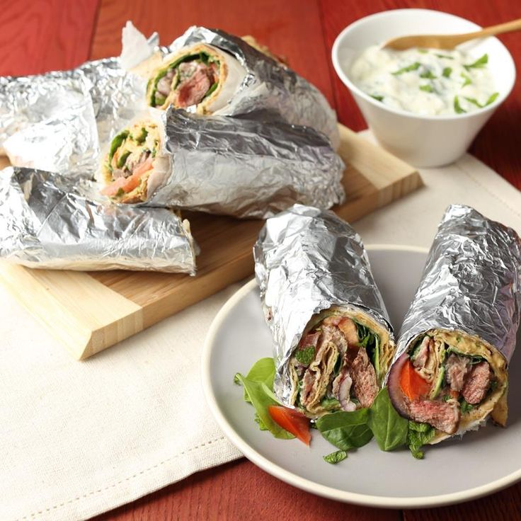 TURKISH LAMB DONER KEBABS WITH GARLIC MINT YOGHURT