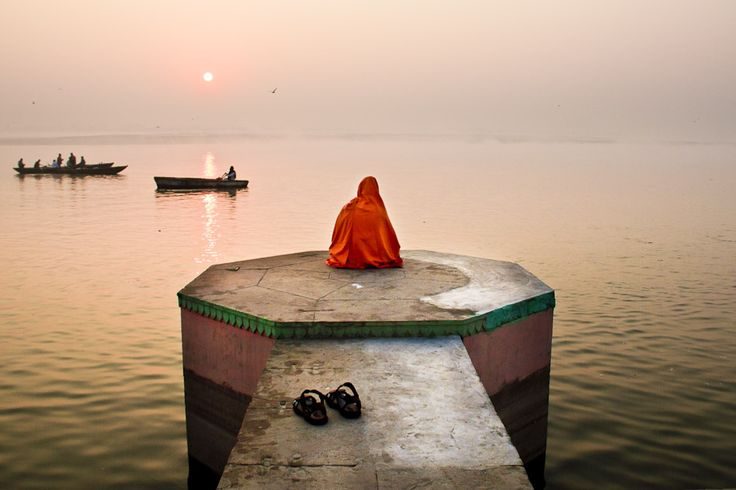 The Ganges River at Sunrise