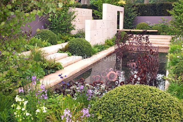 24 best k men v zahrad stone in the garden images on for 7194 garden pond