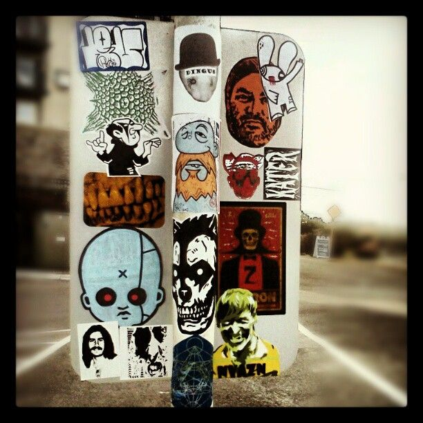 street-art-stickers-street-sign ---> Repinned by www.gers.nl