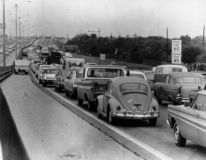 Lone Star Dodge >> 1968 Traffic Jam - Hennings in 2019 | Historical photos ...