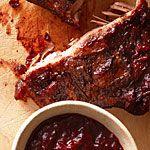 Huckleberry BBQ Sauce Recipe   MyRecipes.com