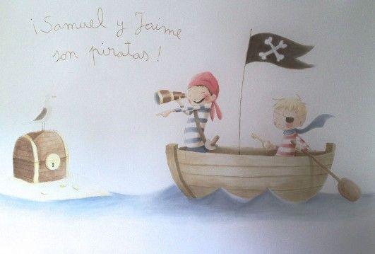 Las 25 mejores ideas sobre im genes de la pared de - Papel pintado piratas ...