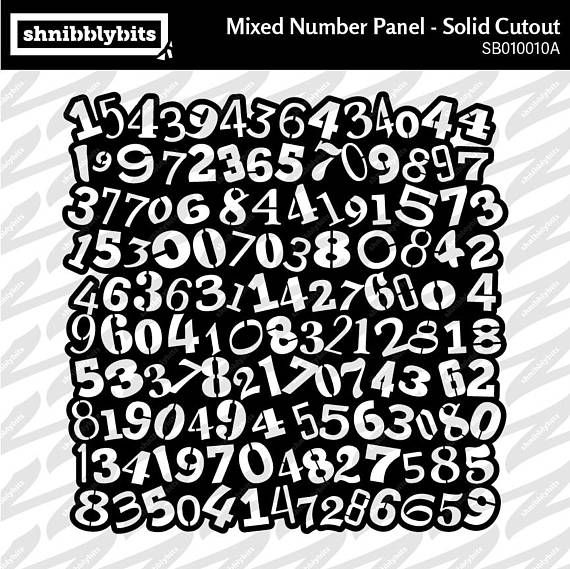 Mixed Number Panel Cutout