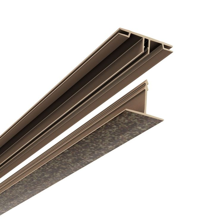 CeilingMAX 100 sq. ft. Smoked Pewter Surface Mount Ceiling Grid Kit