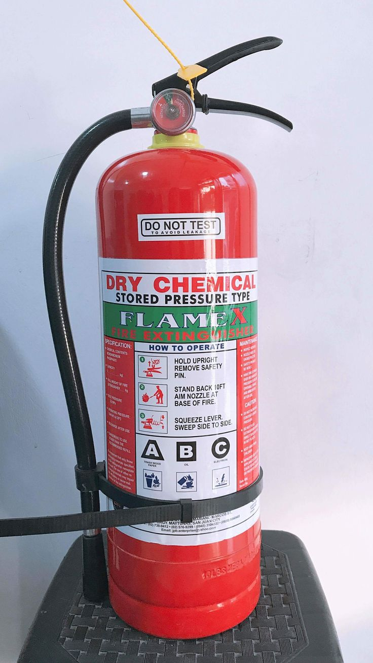 Fire Extinguisher Dry Chemical 10lbs. Brand New Php 1,500
