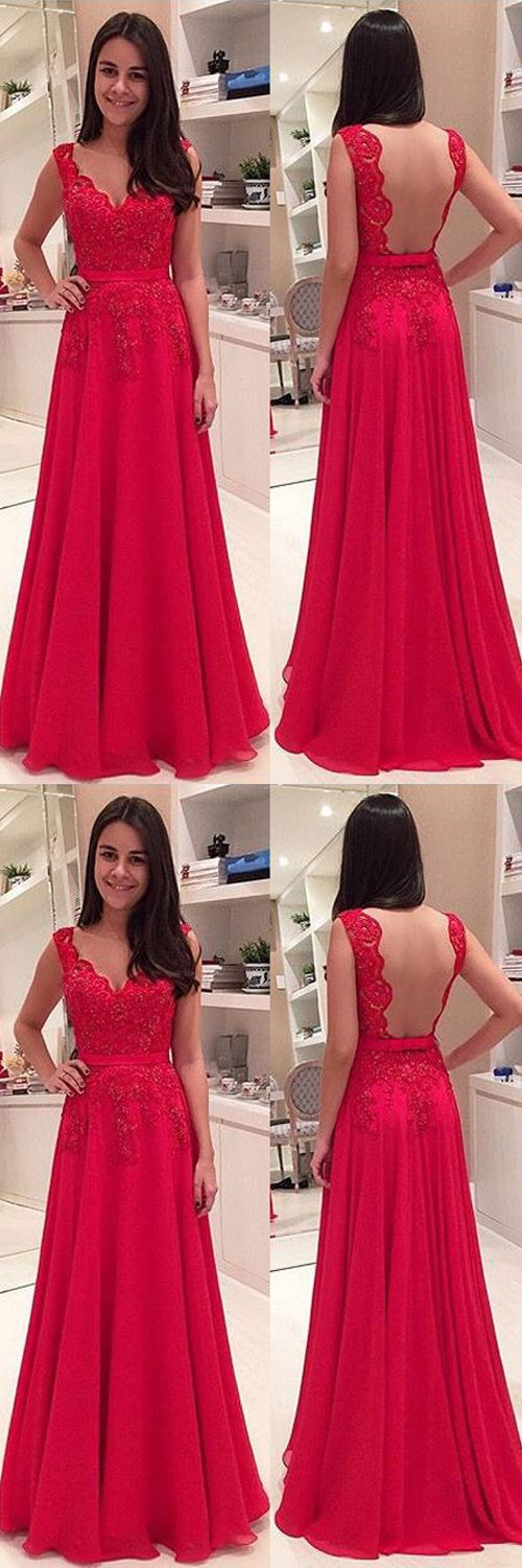 Red Lace Prom Dresses,A Line Prom Dresses,V Neck Prom Dresses,Long Prom Dresses,Off the Shoulder U Back Prom Dress,Charming Backless Evening Prom Gowns,Cheap Fashion Woman Dress,Custom Made Graduation Dresses