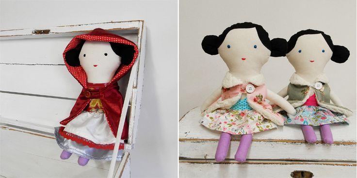 dolls / Břichopas toys
