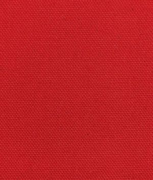 9.3 Oz Red Cotton Canvas Fabric
