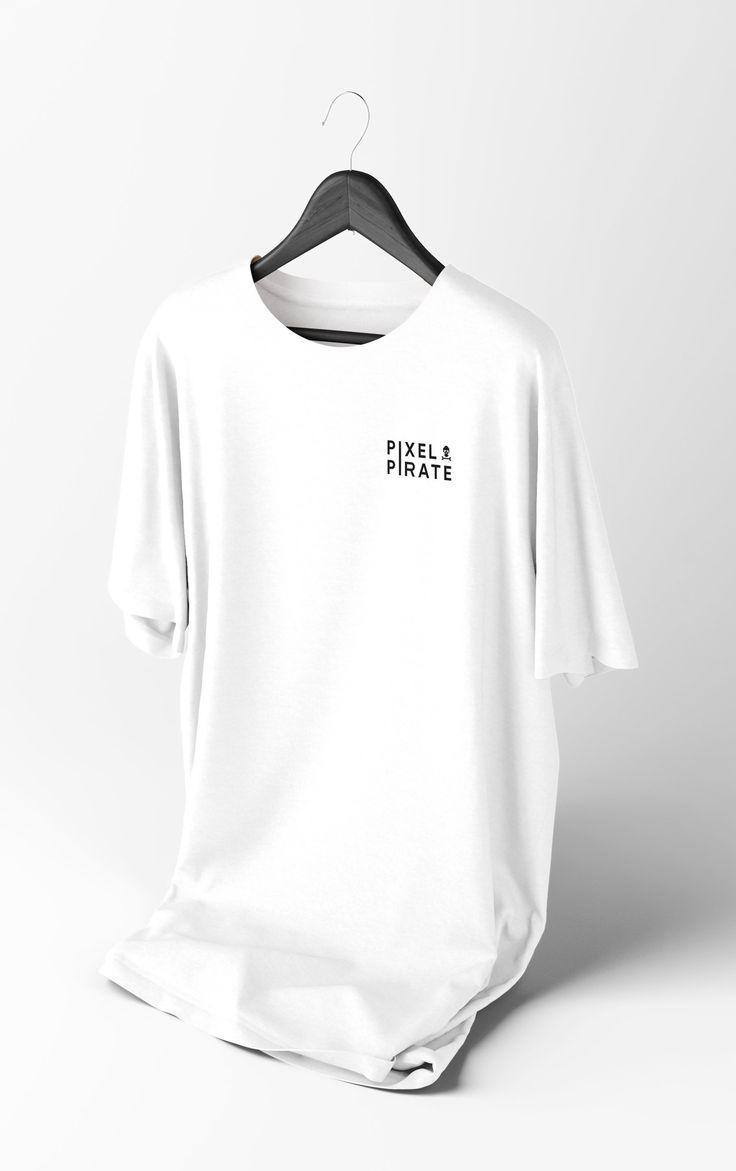 Pixel Pirate Shirt (White)