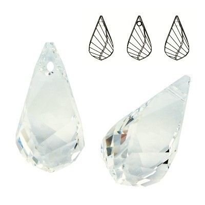 6020 Helix 18mm Crystal  Dimensions: 18,0 mm Colour: Crystal 1 package = 1 piece