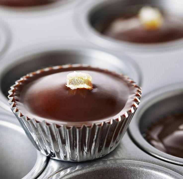 Cupcakes à la pomme de terre et au chocolat