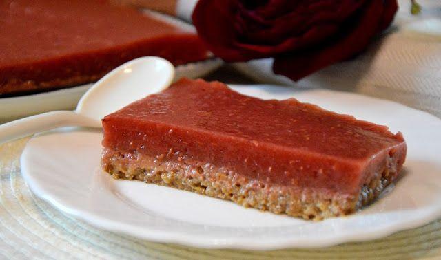 ciasto z batata z malinową galaretką , bez pieczenia (WEGAN) | Healthy Dreams