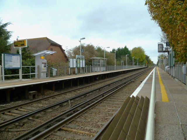 Nutbourne Railway Station (NUT) in West Sussex, West Sussex