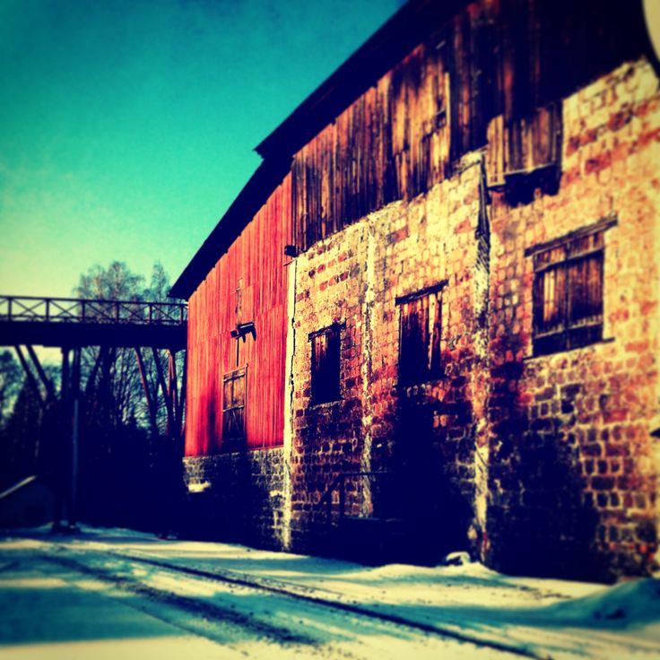 The lovely Åg Mill in Falun, Sweden.