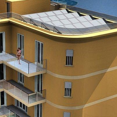Lido Blu a Lido di #Camaiore è composto da 8 #appartamenti classificati in #Classe A